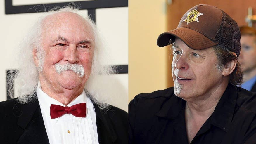 Fox411: David Crosby and Ted Nugent fire jabs back and forth