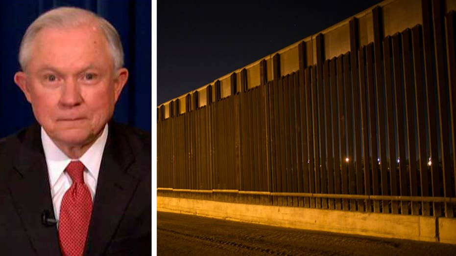 Sessions: Congress can find a host of ways to pay for wall