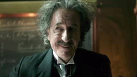 Actor plays Albert Einstein in National Geographic Channel's 'Genius'; returns to the blockbuster 'Pirates of the Caribbean' franchise