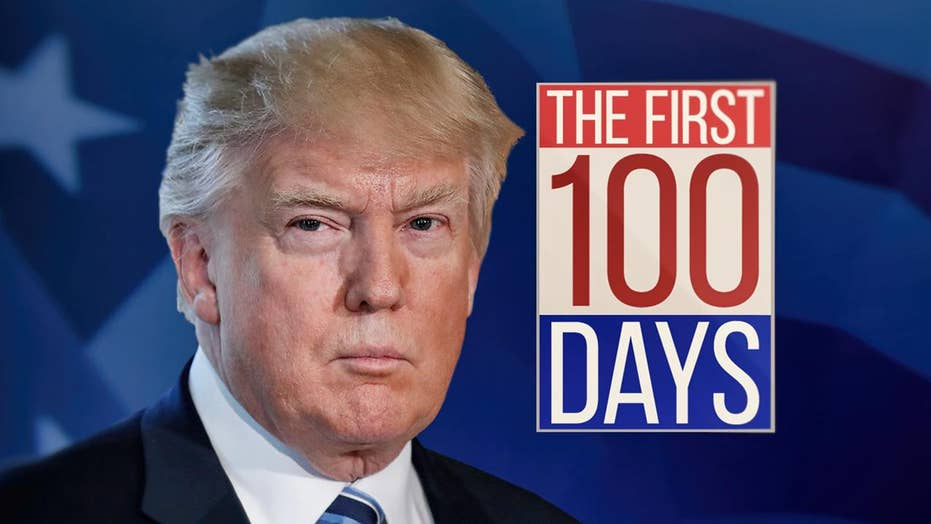 Challenges of President Trump's first 100 days