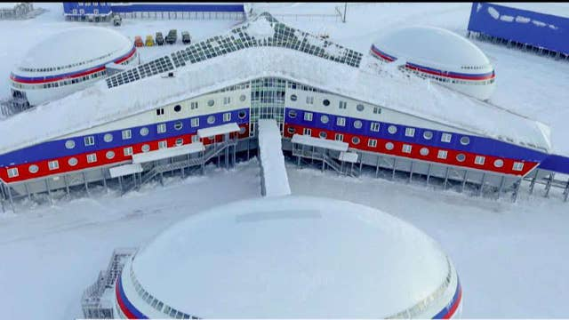 New 'Cold War'? Russia touts Arctic military base