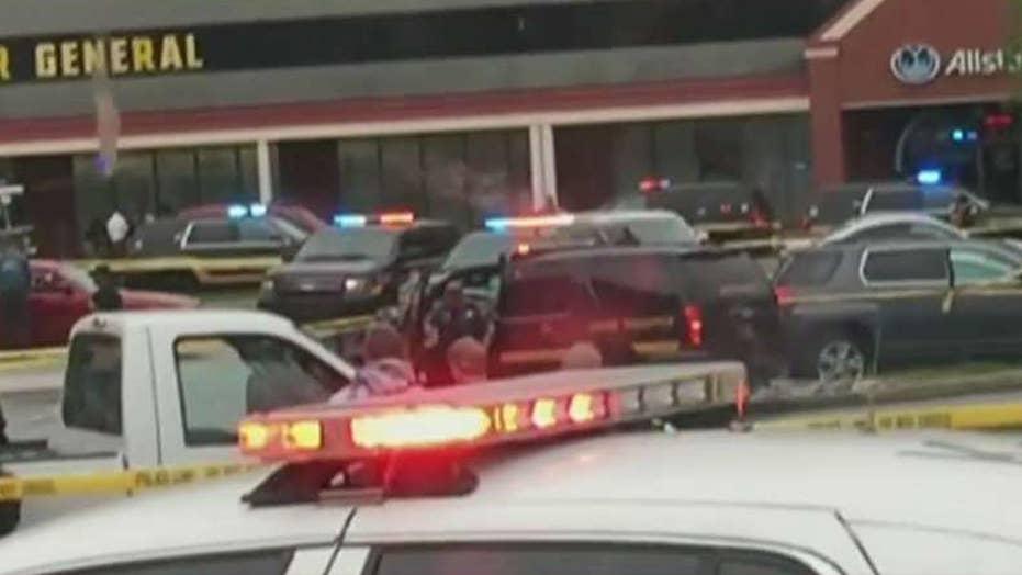 Suspect in murder of Delaware trooper surrounded