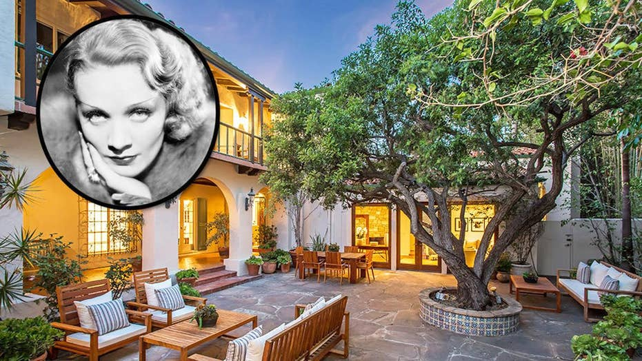 Hollywood icon Marlene Dietrich's home up for sale