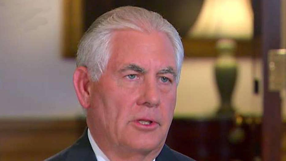Sec. Tillerson discusses US strategy on North Korea