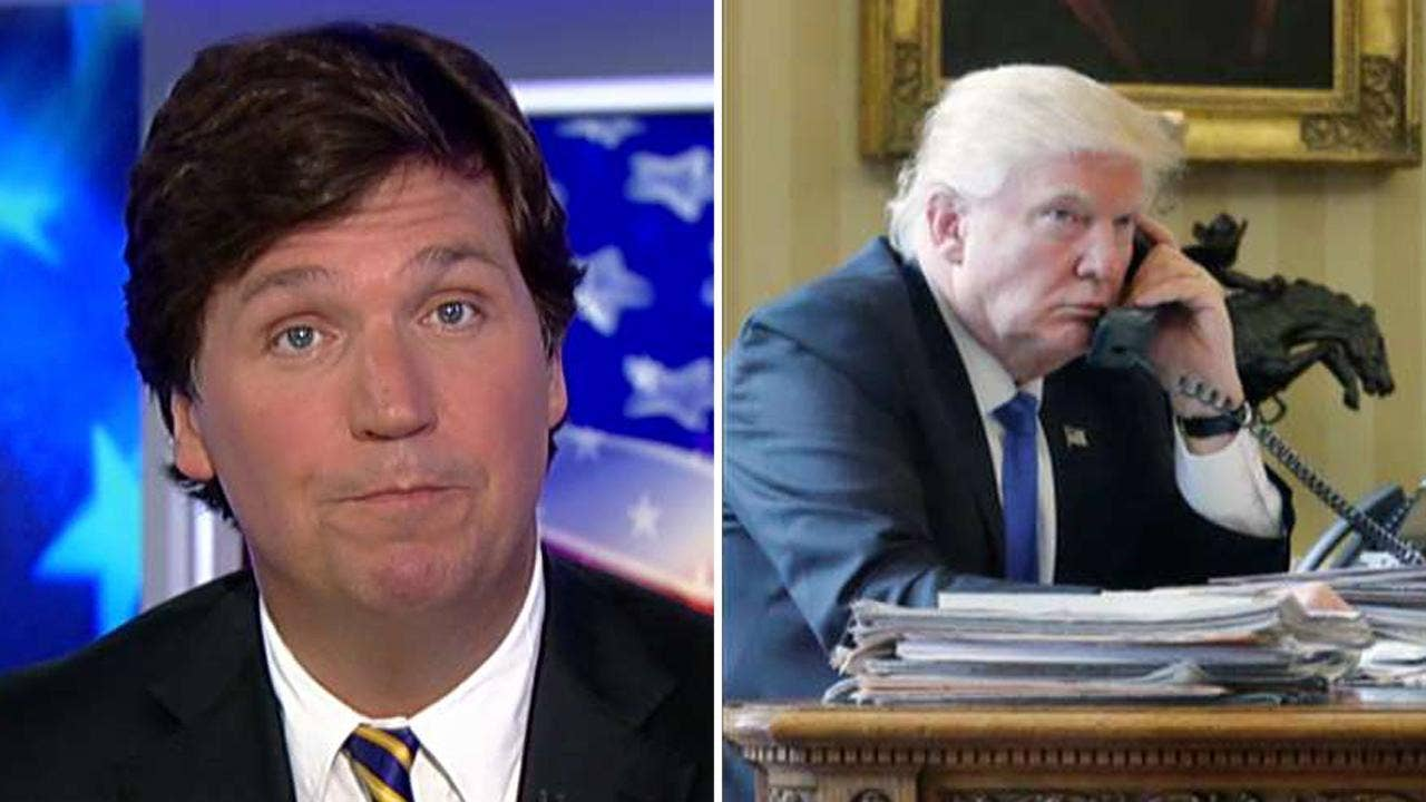Tucker's 'Reality Check': Democrats have lost interest in documents indicating Susan Rice 'unmasked' Trump associates who were spied upon&#x3b; only 2 House Intel members have reviewed them. The Trump-Russia collusion claim is only a political tool #Tucker