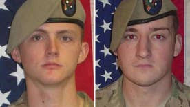Army Rangers died as a result of small arms fire while engaged in dismounted operations