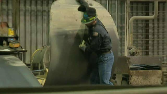 US steel making a comeback after years of decline