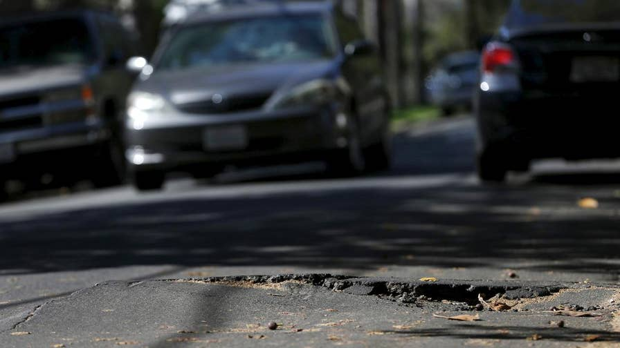 AAA reports drivers in the U.S. paid almost $3 billion in pothole-related expenses in 2016