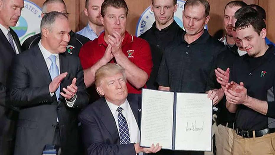 Trump's first 100 days: Signature achievements