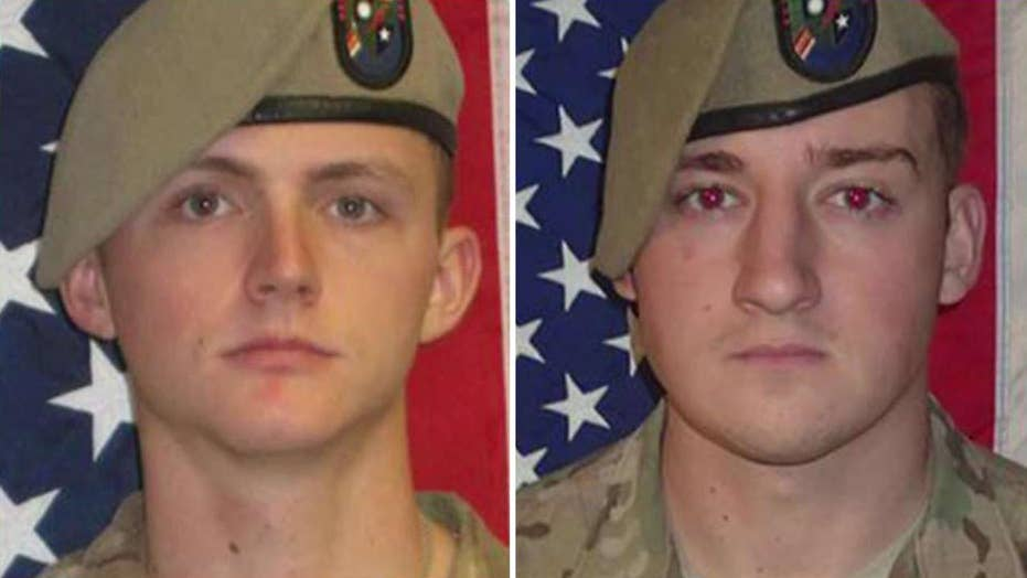 DOD announces names of 2 soldiers killed in Afghanistan
