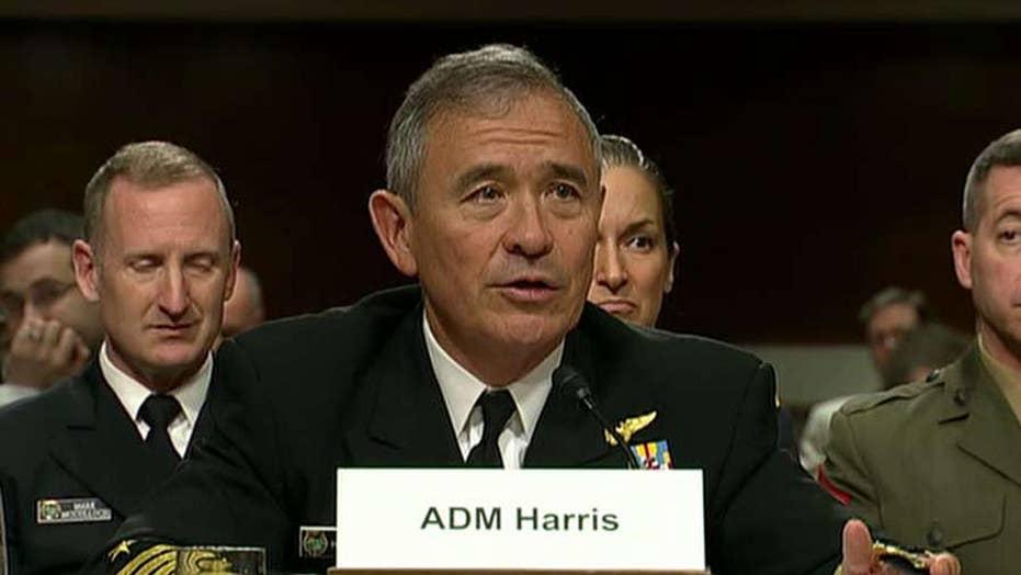 Adm. Harris: US should renegotiate decades-old arms treaty