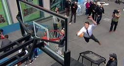 'Fox & Friends' co-hosts try activities on the plaza