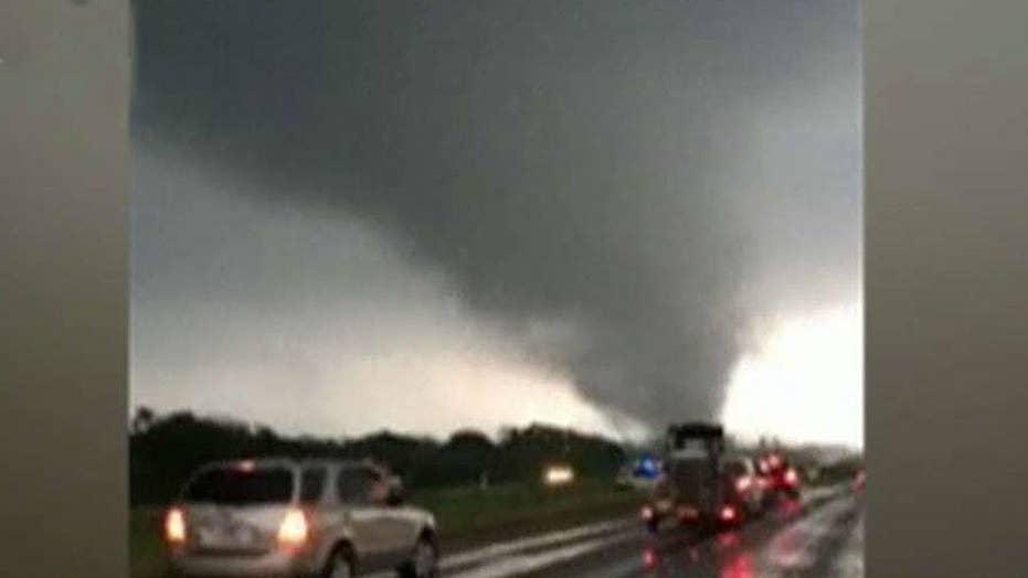 Crews search East Texas for tornado survivors
