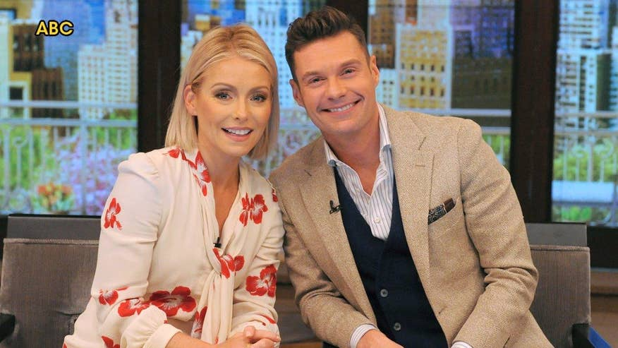Fox411: Ryan Seacrest is Kelly Ripa's new co-host on 'Live'