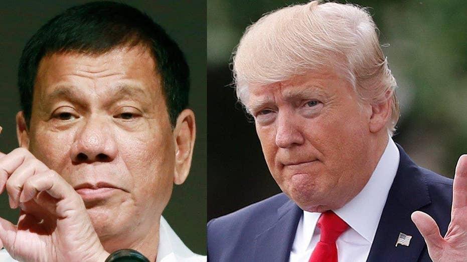 Trump's Duterte invite sets off firestorm
