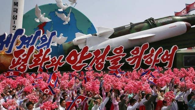 How does Trump see North Korea's 'nuclear war' warnings?