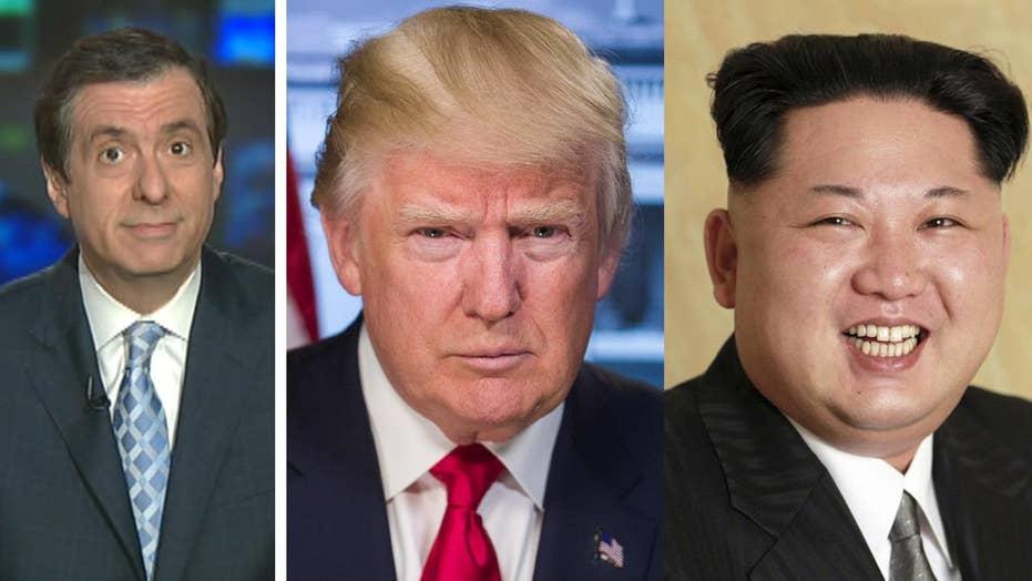 Kurtz: Freakout over Trump's Korea comments