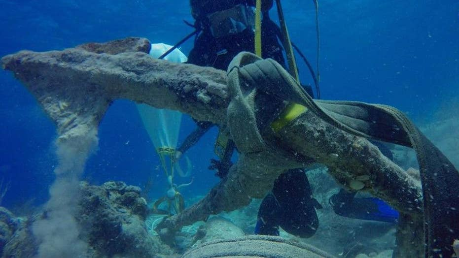 Christopher Columbus' anchor believed to be discovered