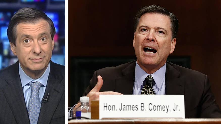 'MediaBuzz' host Howard Kurtz weighs in on FBI Director James Comey's testimony before the Senate Judiciary Committee