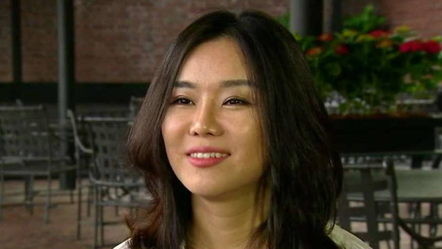 'The Girl with Seven Names' author Hyeonseo Lee details her escape, talks about how President Trump's tough talk fosters hope; Greg Palkot has the story for 'Special Report'