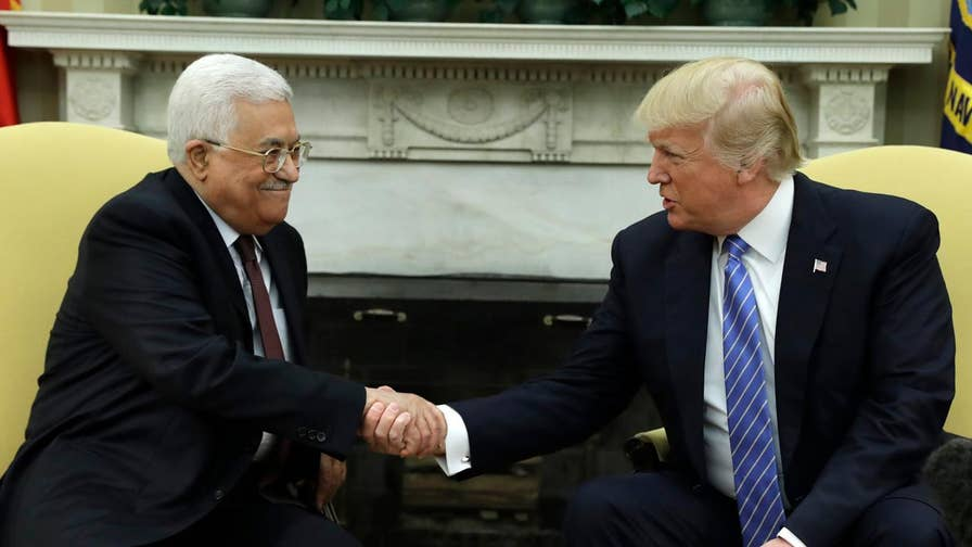 The president demands that the Palestinian Authority stop payments to Palestinians held in Israeli prisons and their families and to rein in anti-Israel incitement by the media; John Roberts has the roundup for 'Special Report'