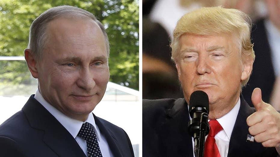 Trump and Putin agree to work together on North Korea, Syria