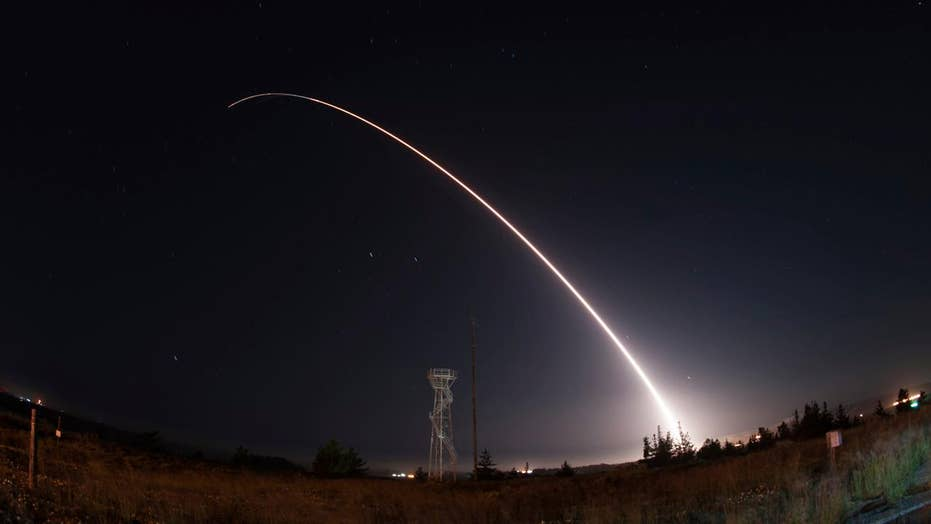 US Air Force conducts second long-range missile test