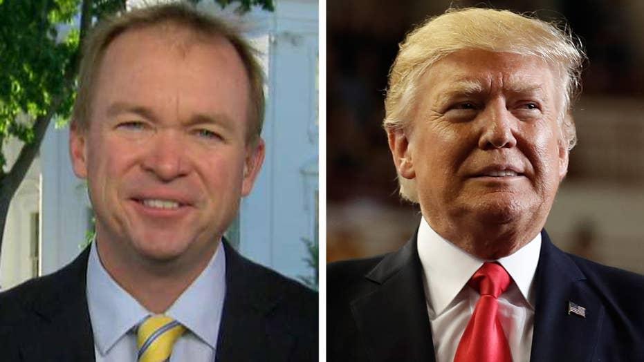 Mulvaney defends spending bill: Trump delivered a good deal