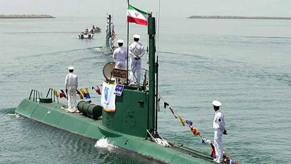 US officials: Iran tried to launch cruise missile from sub