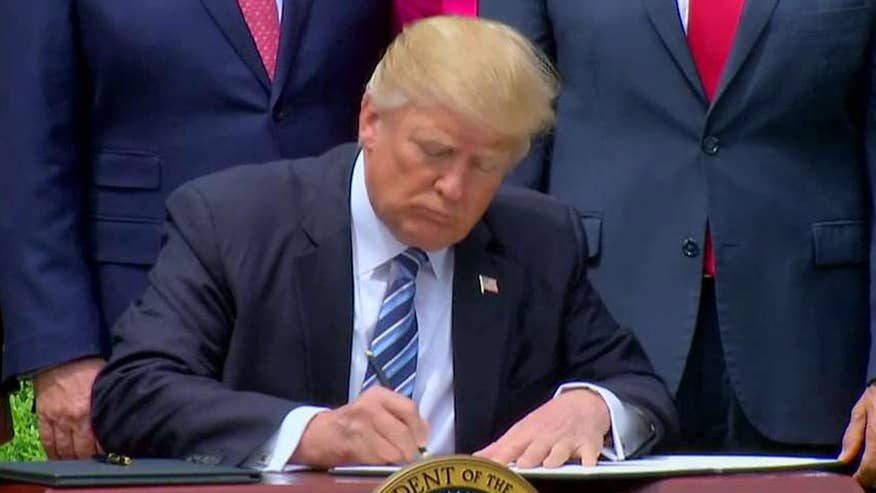 President hosts National Day of Prayer event at the White House, signs executive order on religion liberty and free speech