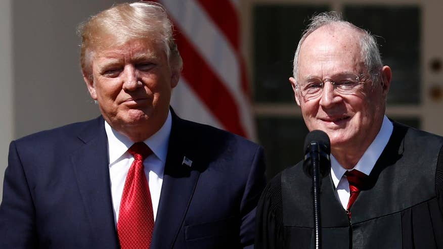 80-year-old US Supreme Court Justice Anthony Kennedy rumored to be considering retirement