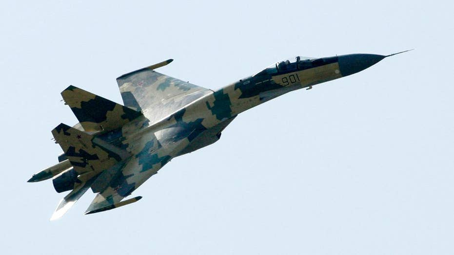 Russian fighter jets, bombers intercepted off Alaskan coast