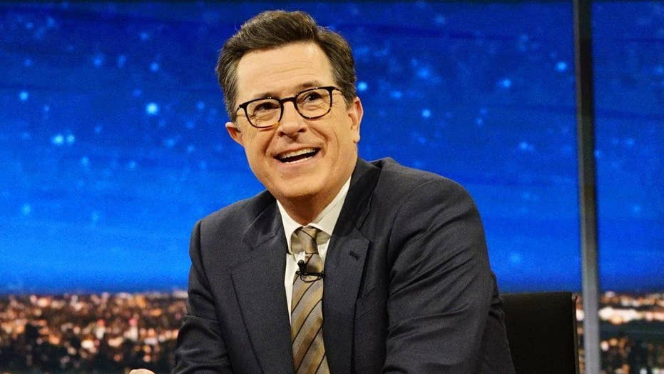 Stephen Colbert stands by Trump taunt