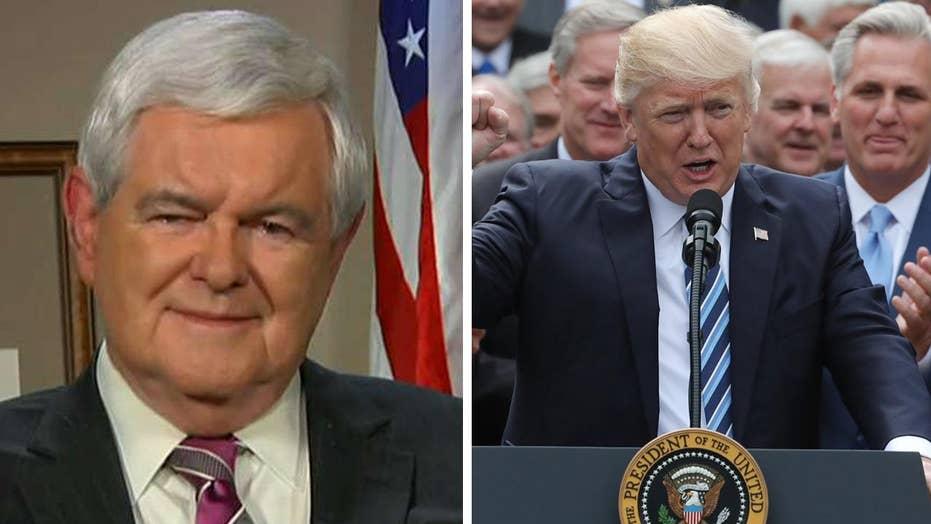 Gingrich: Health care bill an extraordinary achievement