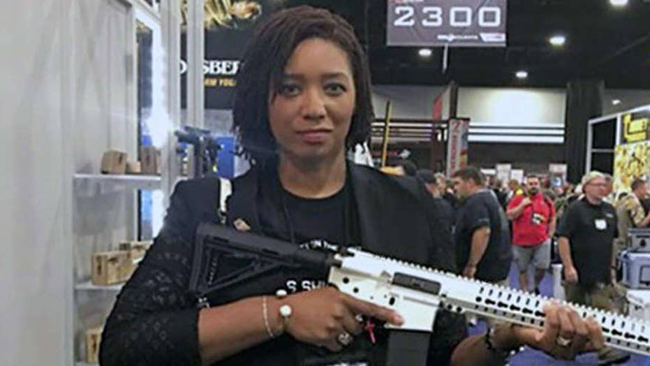 Columnist suspended for defending NRA resigns
