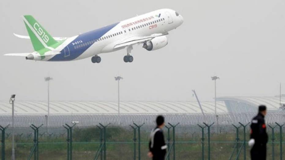 China successfully launches test flight of new passenger jet