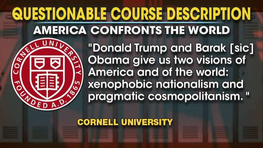 CampusReform.Org correspondent and Cornell student Neetu Chandak explains