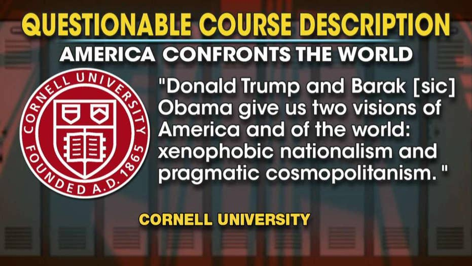 Cornell offering course on Trump's 'xenophobic nationalism'