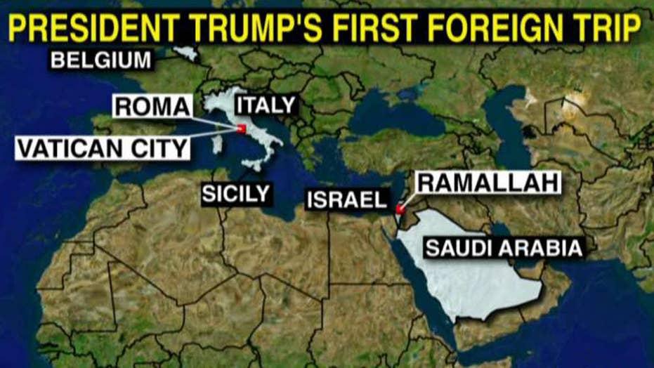 Trump to visit Israel, Saudi Arabia, Vatican