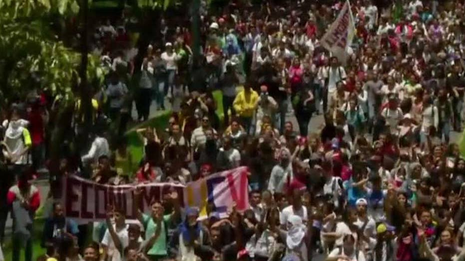 Death toll in Venezuela protests rises to at least 33