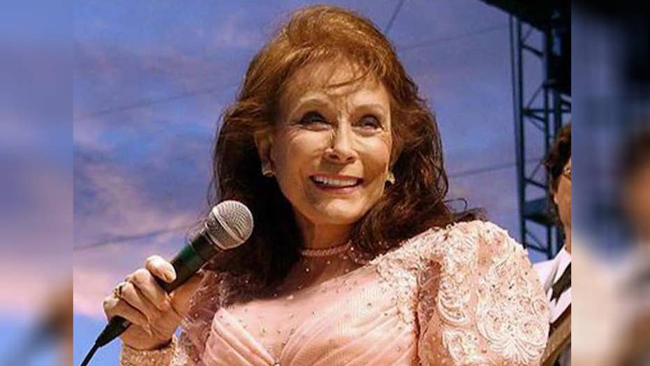 Country music legend Loretta Lynn in hospital after stroke