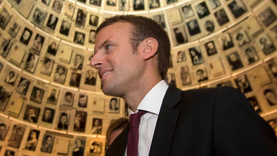 French presidential candidate hacked