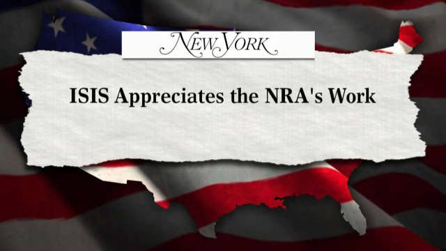 New York Magazine claims NRA benefits ISIS