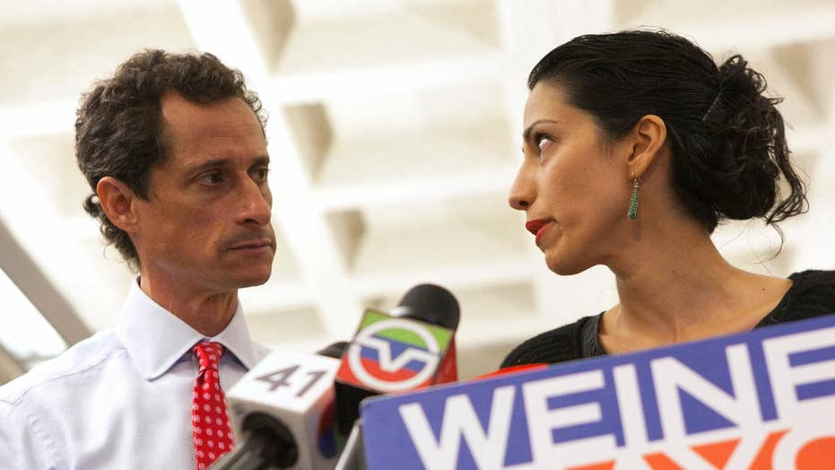 Comey says Abedin forwarded classified emails to Weiner