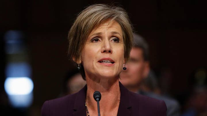 Sally Yates on refusing to defend Pres. Trump's travel order