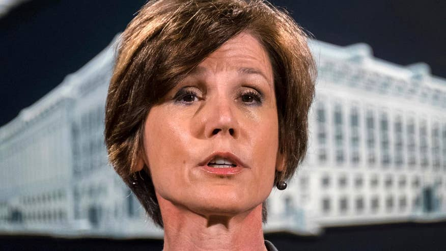 Former acting Attorney General to testify before Senate Judiciary subcommittee