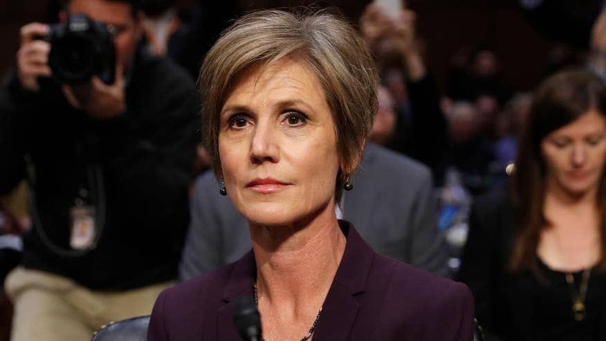 Former acting attorney general details meeting with White House counsel on former National Security Adviser Michael Flynn
