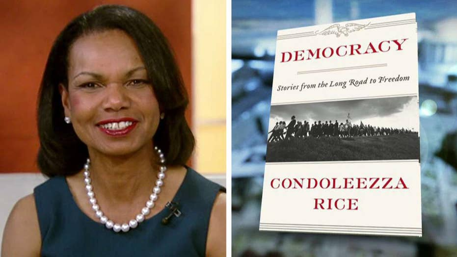 Condoleezza Rice talks foreign policy, new book on democracy