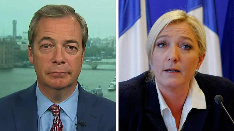 Farage: Le Pen will be French president in 2022