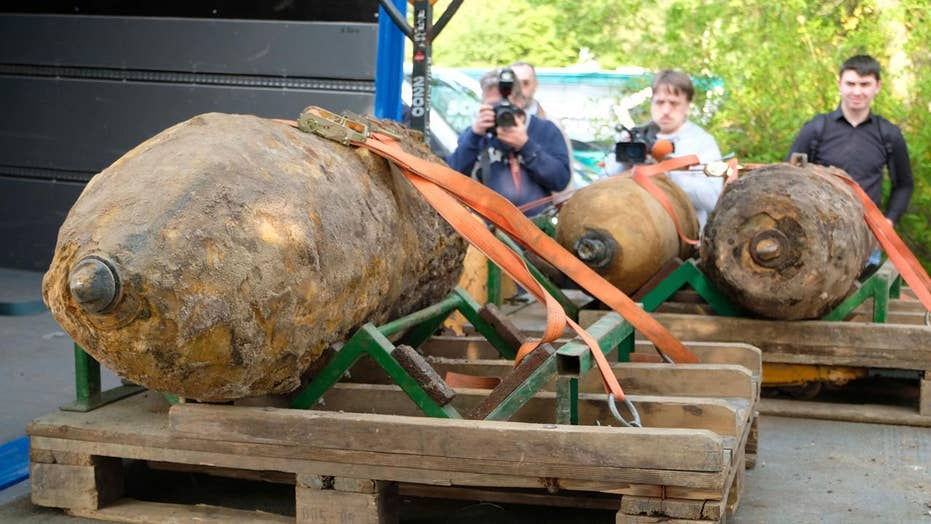Unexploded WWII bombs force mass evacuation in Germany
